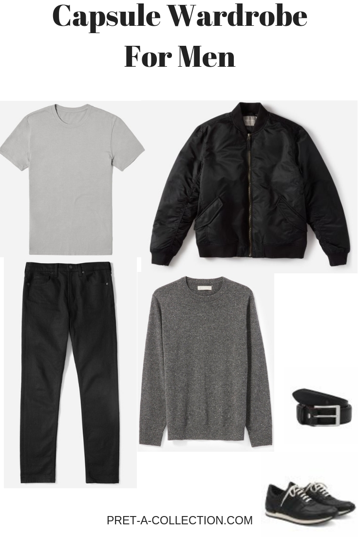 How to style Men capsule wardrobe