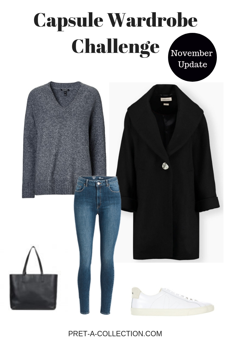 Capsule Wardrobe Challenge November Update