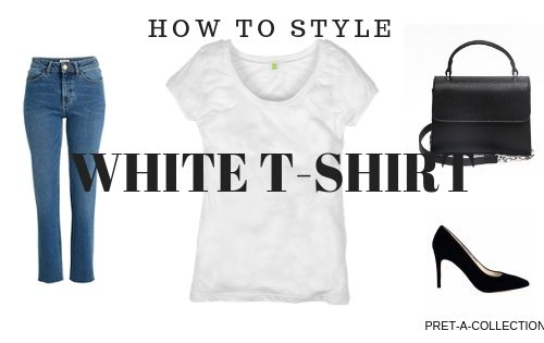 How To Style White T-shirt