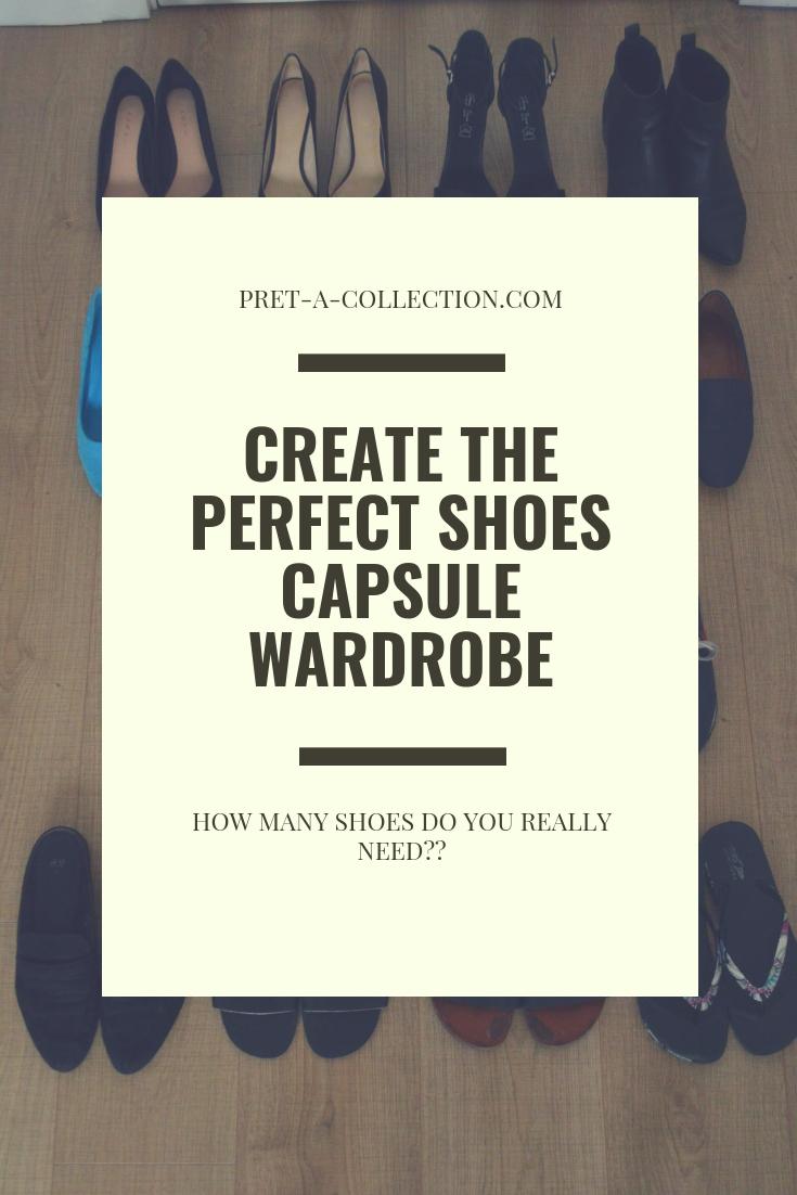 Capsule Wardrobe- Shoes