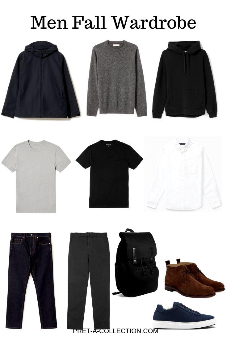 Men fall capsule wardrobe