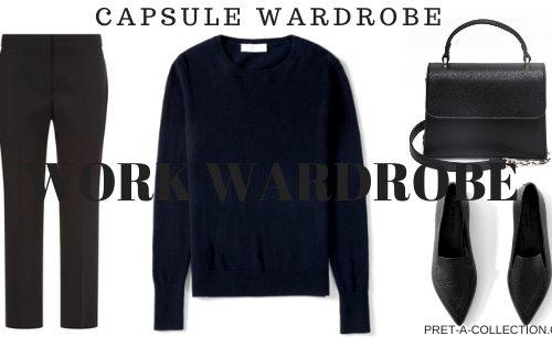 Work Capsule Wardrobe
